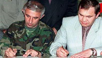 potpisivanje Khasavyurtovih sporazuma