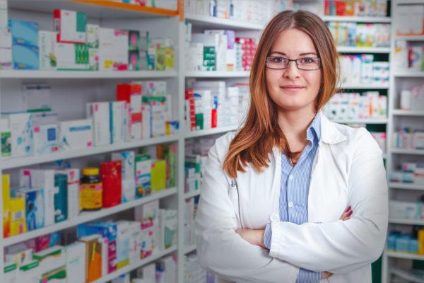 Аптека вътре