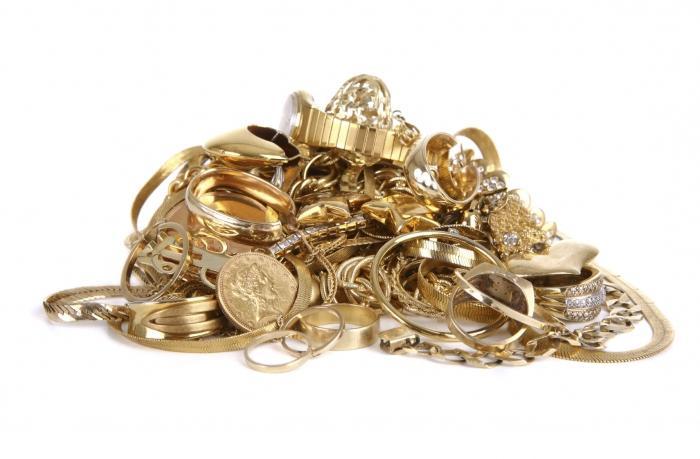 Uzorak zlata (stigma)