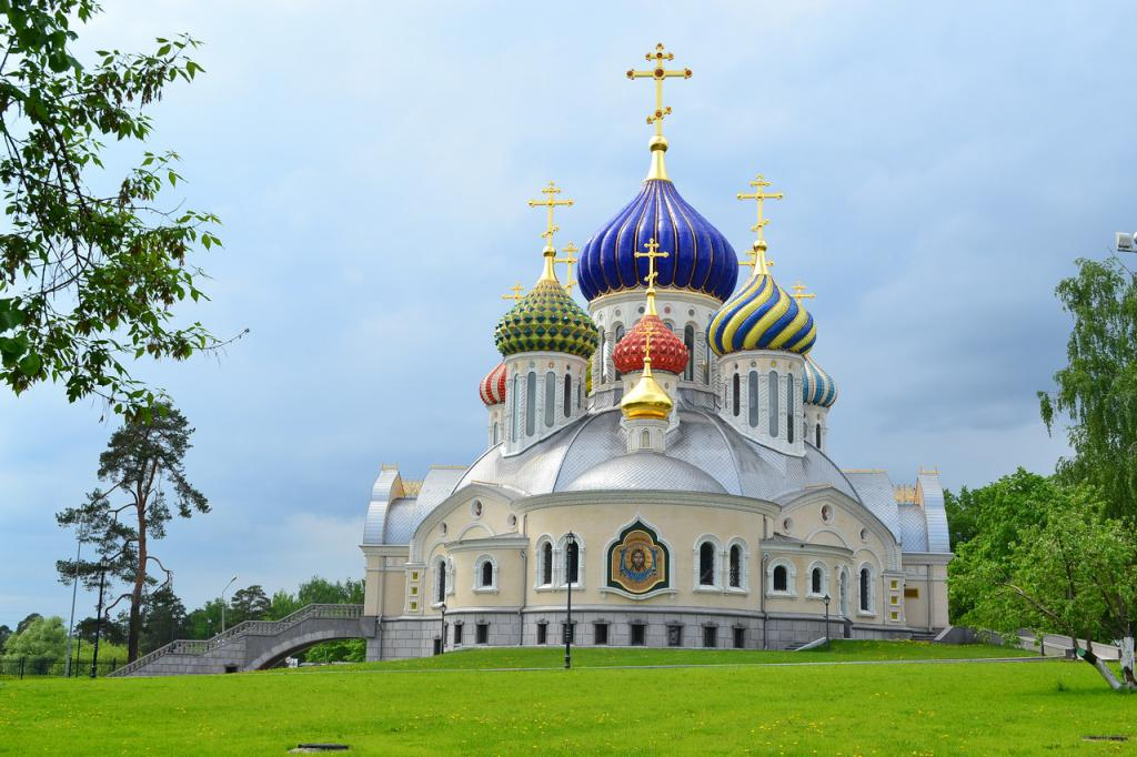 chrámu v Rusku