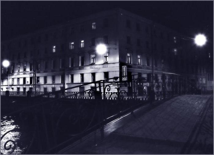poesia di analisi di farmacia lanterna notte strada brevemente