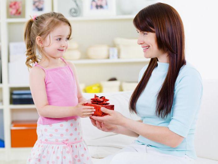 Novoletna darila za starše otrok