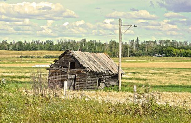 Изоставени жилищни сгради в Москва