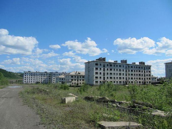 Изоставени жилищни сгради в Русия