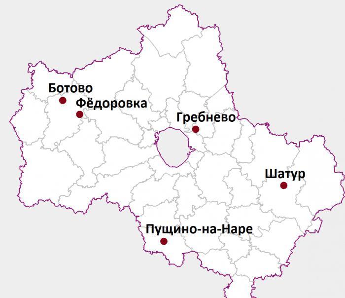 mappa del villaggio abbandonata