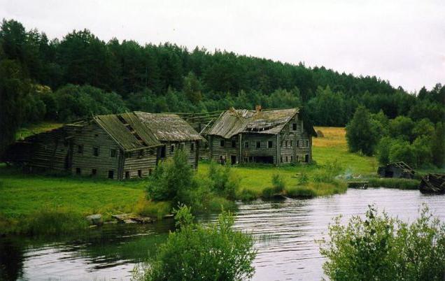 villaggio abbandonato vicino a Mosca