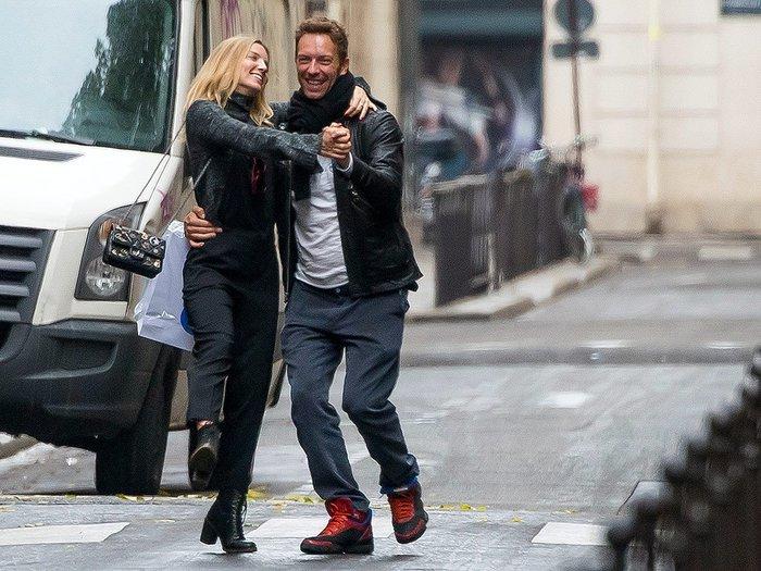 Annabelle Wallisová s Chrisem Martinem