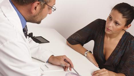 на прием при гинеколог