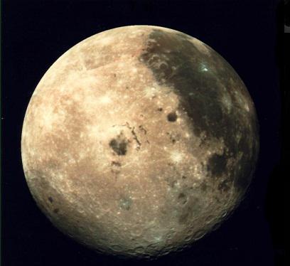 Accelerazione della caduta libera sulla luna