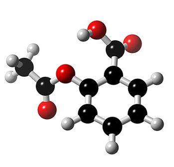 Formuła kwasu acetylosalicylowego