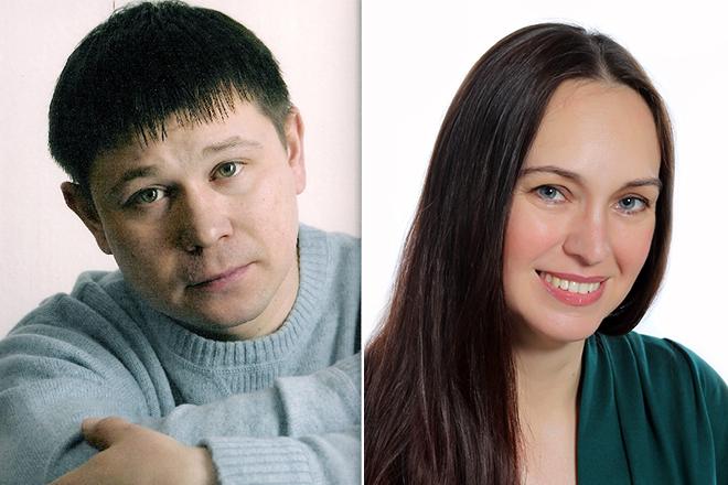 Анатолий Гущин и Виктория Захарова