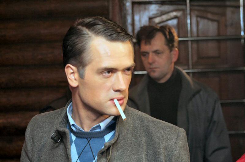Con una sigaretta