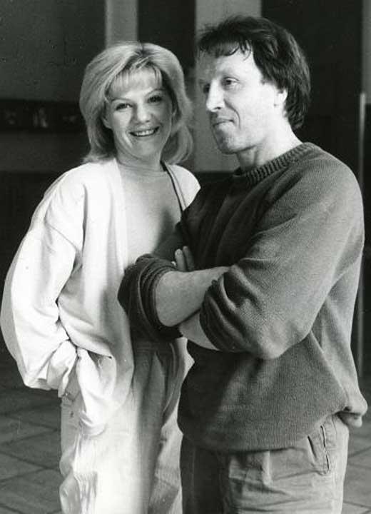 Vladimir Steklov con la sua terza moglie