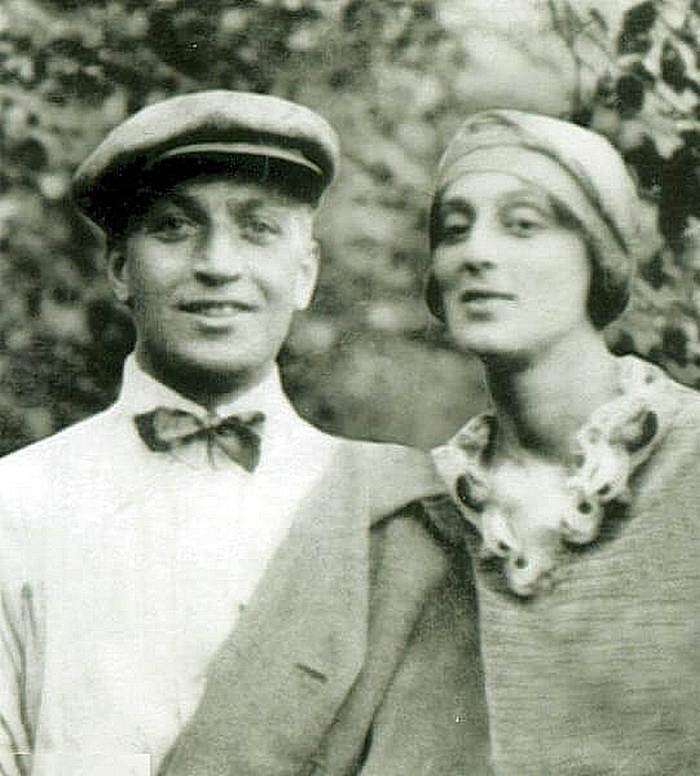 Giovane coppia - Veriko Andzhaparidze e Mikhail Chiaureli