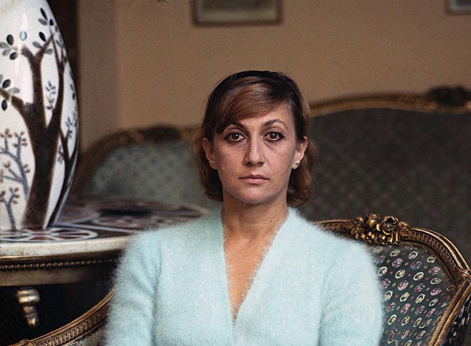 Figlia Veriko - famosa attrice di teatro e film Sofiko Chiaureli
