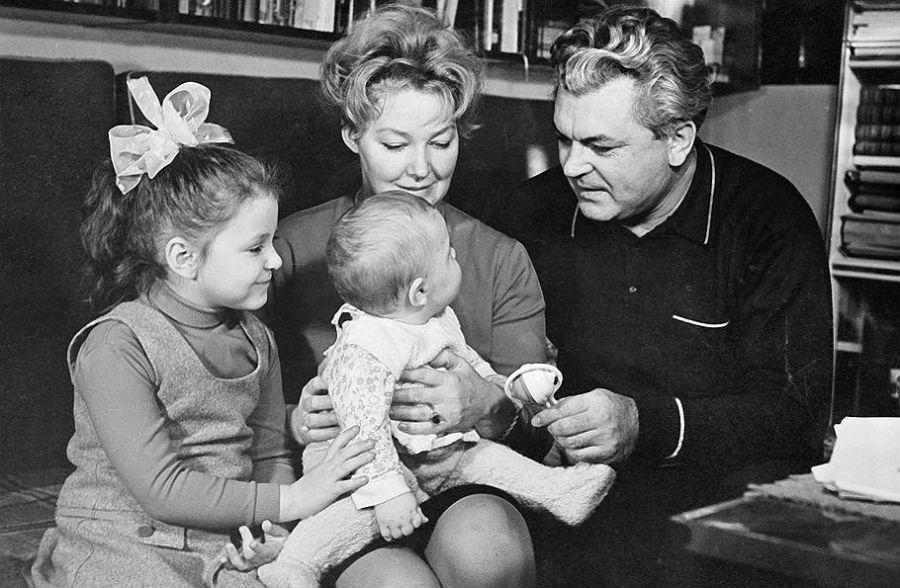 Rodzina Iriny Scarbova