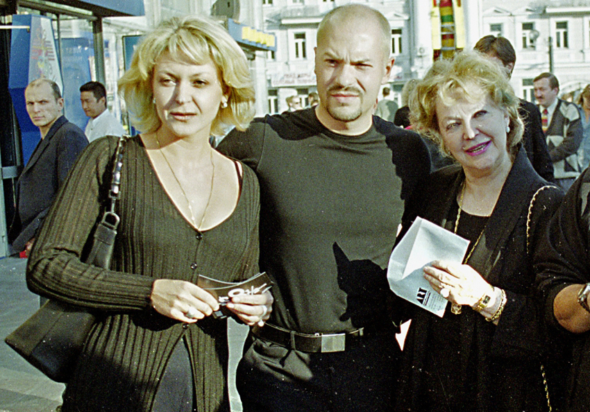 Irina Skretseva z dziećmi