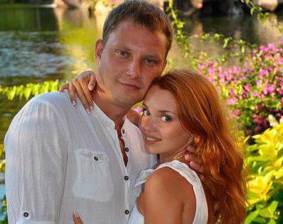 Олга Кузмина са мужем