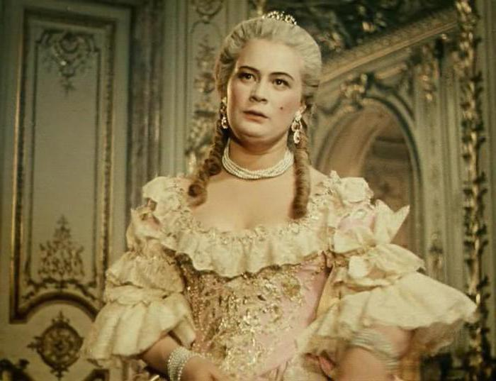 Tamara Aleshina attrice