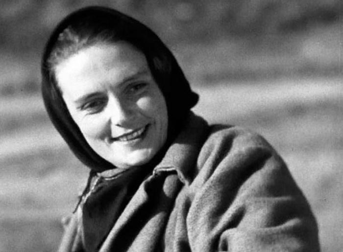 Varvara Myasnikova v mladosti