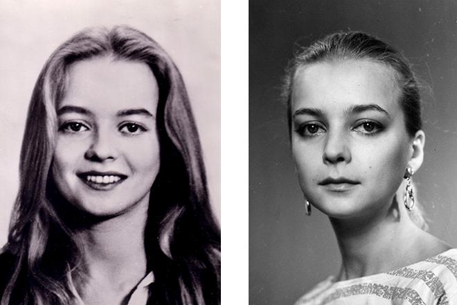 Natalya Vavilova in gioventù