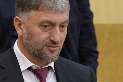 Adam Delimkhanov Cecenia