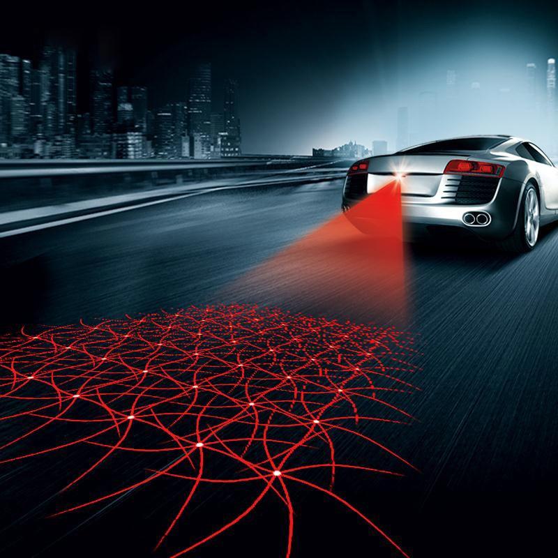Лазерен сигнал за мъгла на колата