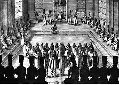 приемането на катедралния код от 1649