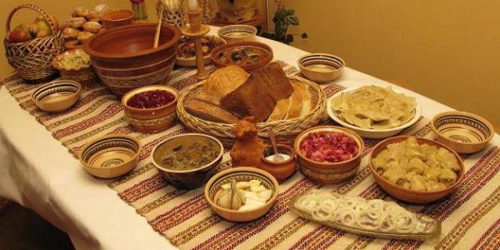 Božićna brza hrana danju
