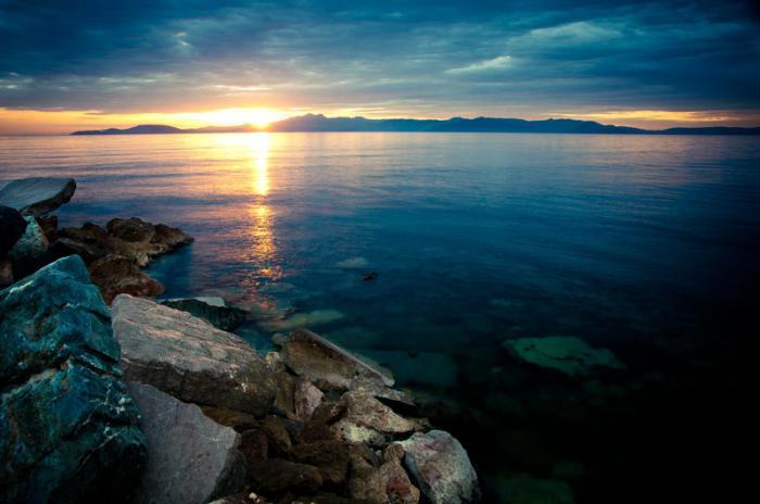 Foto del Mar Egeo