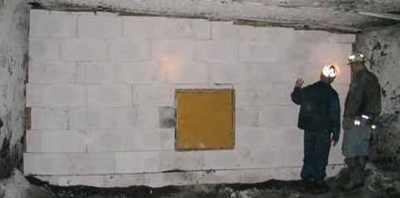 costruzione di blocchi di cemento aerato