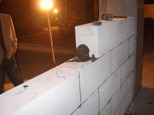 produzione di blocchi di calcestruzzo aerato