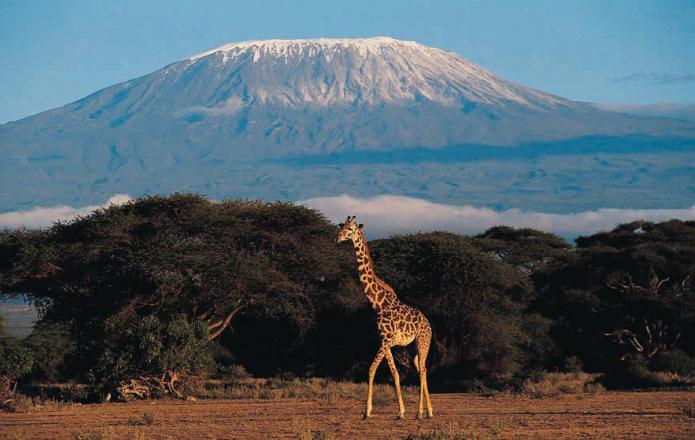 география естествени области на Африка
