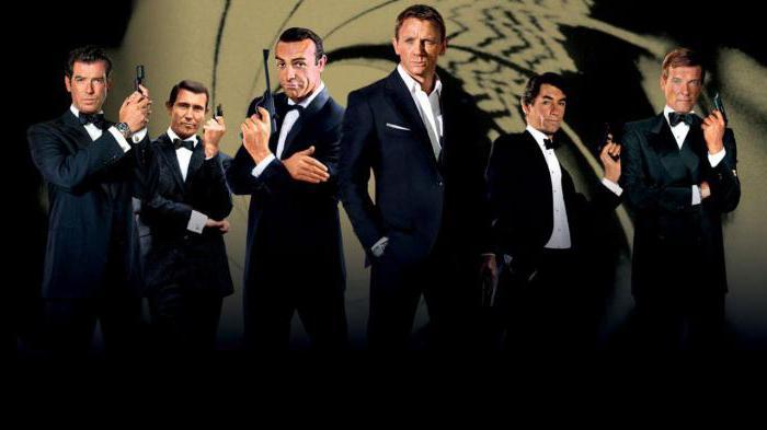 agente 007 tutti i film nella lista degli ordini