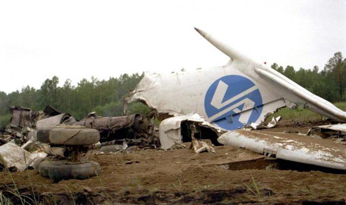 letecká havárie ussr a rusie