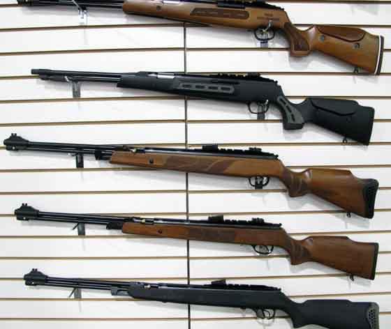fucili ad aria compressa