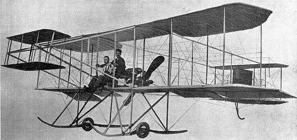 първи самолет