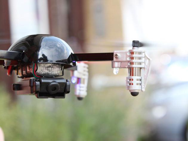 aereo con telecamera