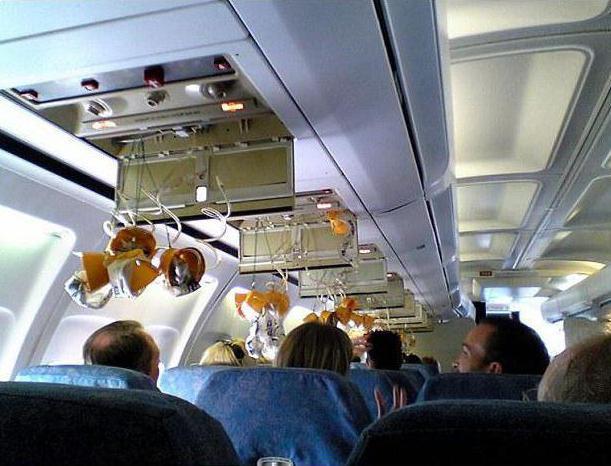 zmanjšanje tlaka letala, kaj se zgodi ljudem