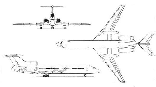 Aereo Tu-134