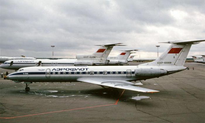 Tu-134.  Piano del diavolo