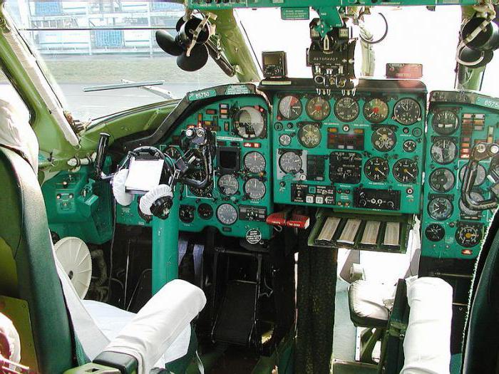 Tu-134.  Simulatore di volo