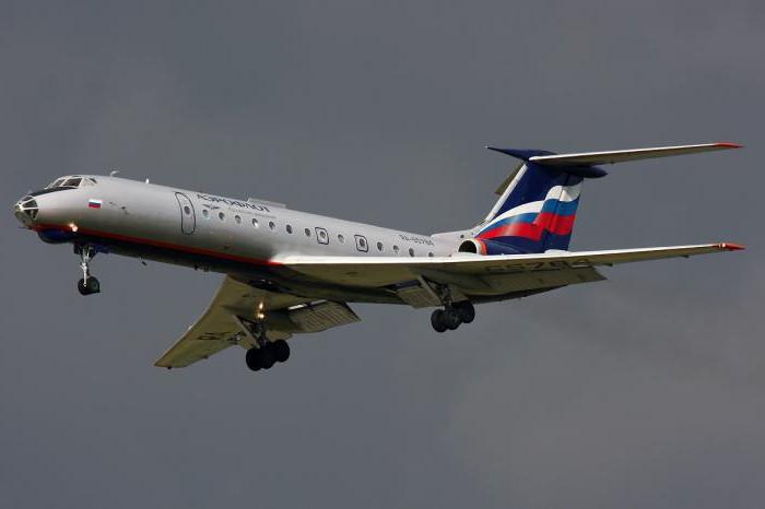 Tu-134 prezzo aereo