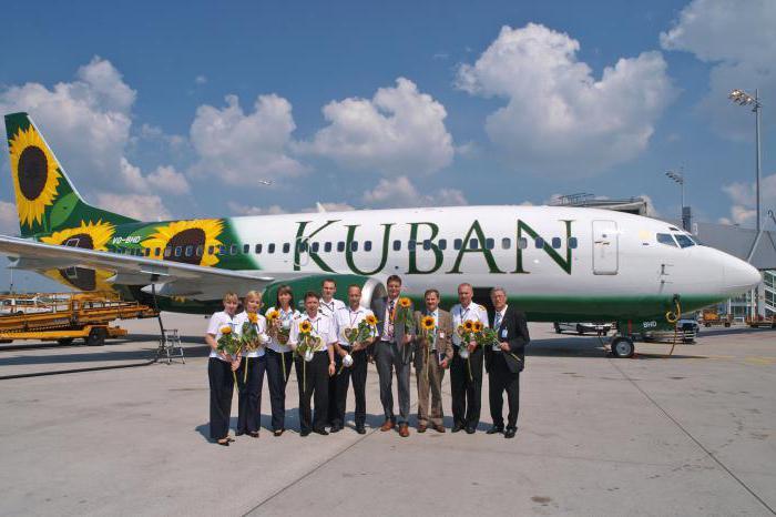 Fotografija letalske družbe Kuban
