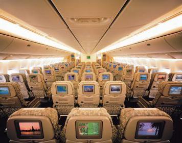 Boeing 777 300 layout di cabina