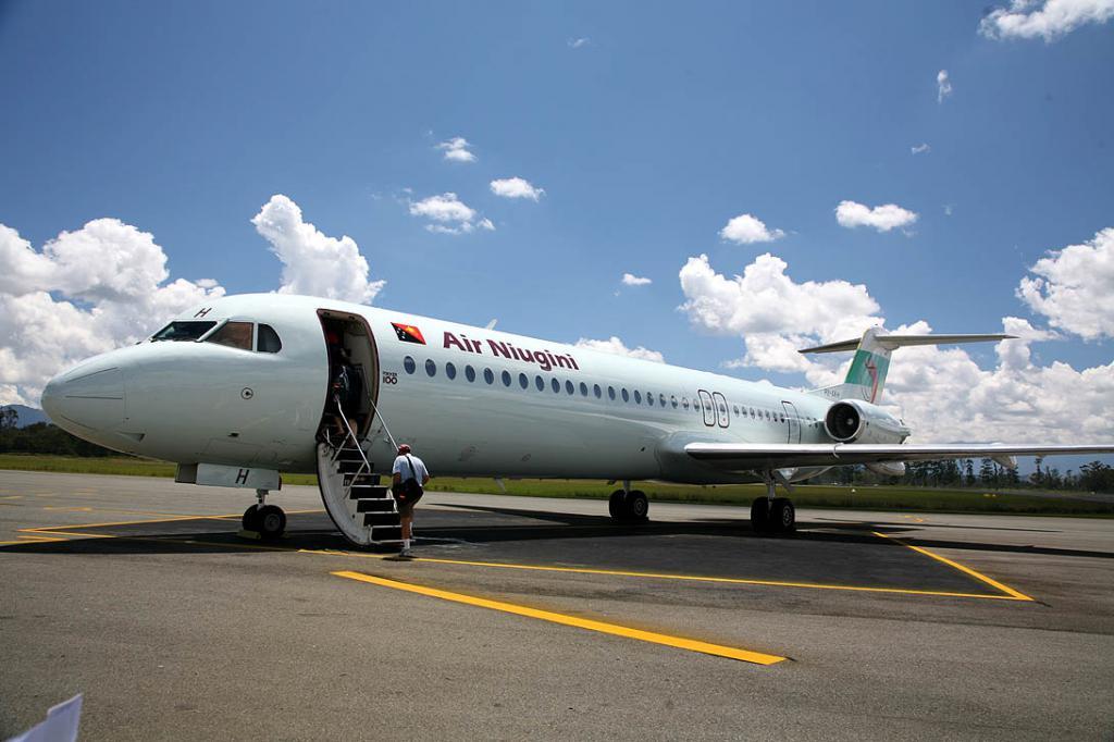 Letadlo Fokker 100