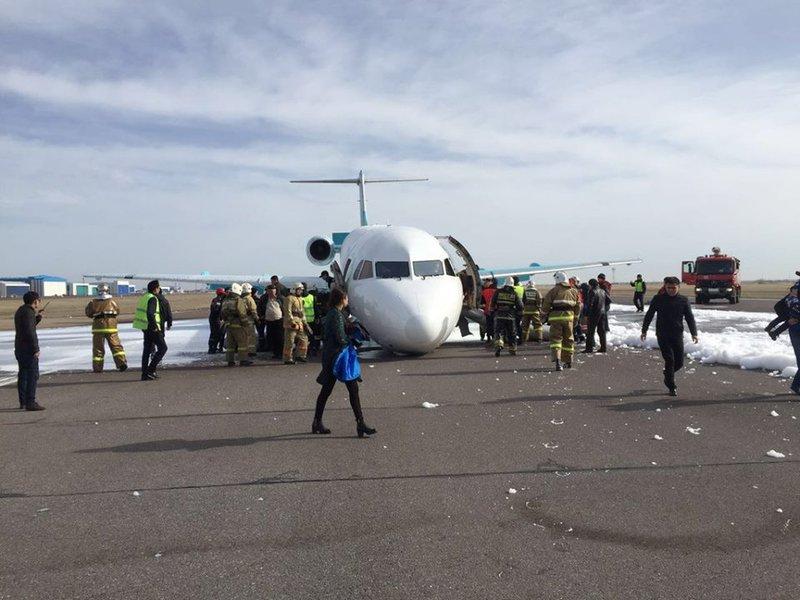 Fokker 100: fotky z havárie