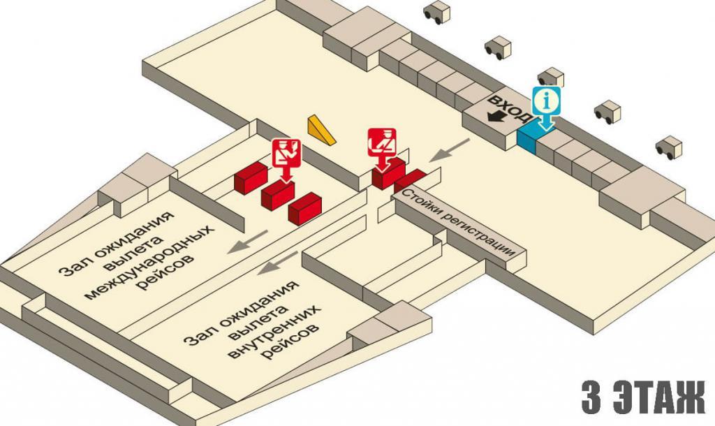 Aeroporto di Krabi - terzo piano