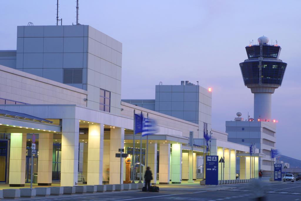 Letiště v Aténách