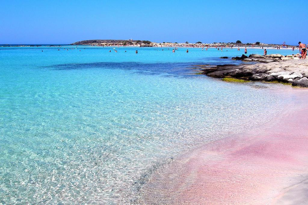 Pláže na Krétě